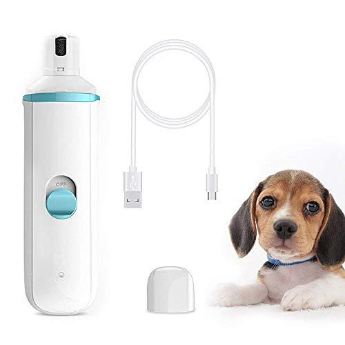 GAOJIN6868 Lima De Uñas Eléctrica para Mascotas,bajo Nivel De Ruido Y Baja...