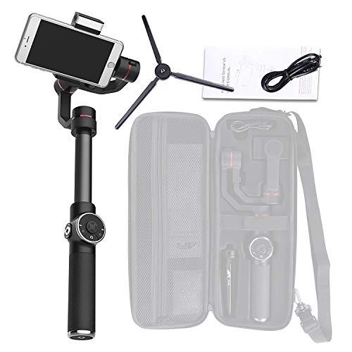 Estabilizador de teléfono Gimbal de Mano de 3 Ejes, para iPhone de 3.5-6.1 Pulgadas XS XR X 8Plus 8 7P 7 Samsung S9 S8 S7 y cámara Gopro Action