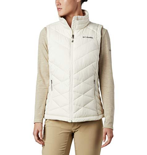 Columbia Women's Heavenly Vest, Chalk ,Large