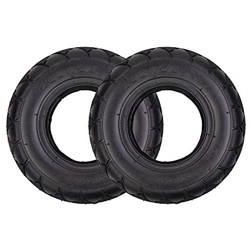 HTZ-M Neumáticos, Paquete de 2 de 200x50 8 x 2 'Neumático de Repuesto para Razor Scooter E200 E150 8 Pulgadas Scooter eléctrico Universal