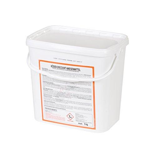 Köder-Discount 5 KG Ameisengift Granulat- Ameisenmittel Für Innen, Außen, Haus - Ameisen Streumittel