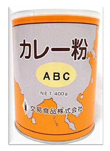 交易食品 カレー粉 (ABC) 丸缶 400g