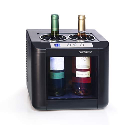 Cavanova OW002, Enfriador de Vino, Capacidad 2 Botellas, 5°-18°C