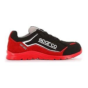 41AvIe4CjyL. SS300  - Zapato SPARCO Nitro S3 RSNR Rojo/Negro