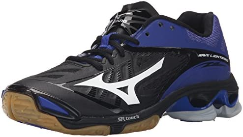 Mizuno Women s Wave Lighting Z2 Volleyball Shoe Black Royal 11 D US product image