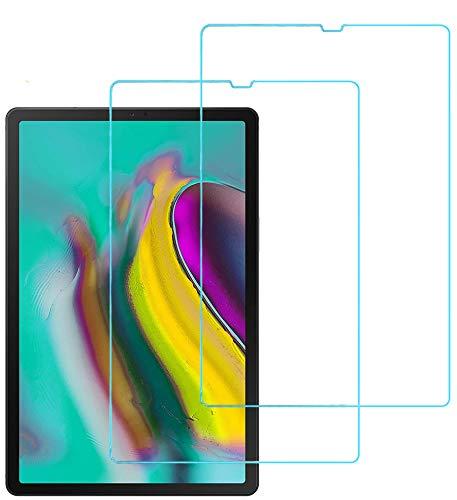 Eachy Samsung Galaxy Tab S5e 10.5 2019 (SM-T720/T725) Panzerglas Schutzfolie,[2 Stück] Ultra-klar Displayschutzfolie für Samsung Galaxy Tab S5e 10.5 2019 Panzerglasfolie 10.5 Zoll (0,33 mm)