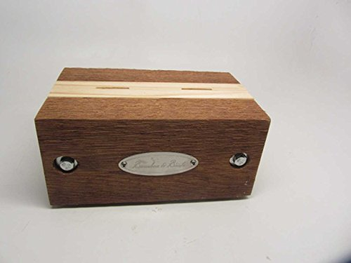 All Natural Wood Oyster Shucker Holder - Handmade Pine and Cedar - Made in USA
