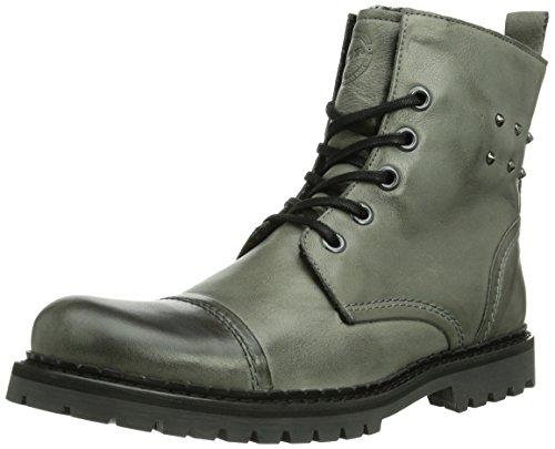 NOBRAND Herren Bum Biker Boots, Grau (Grey 04), 44 EU