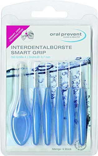 Oral Prevent Interdentalbürsten Smart Grip 0.70 mm blau, 1 x 6 Stück