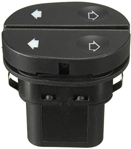 Interruptor de elevalunas eléctrico del lado del conductor/ajuste para Ford/Fit For Fiesta/Fit For KA/MK6/Fit For Fusion/Fit For PUMA (negro)