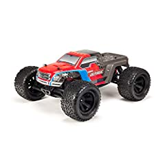 READY TO RUN: Perfect RC truck for beginners, built for all-terrain stability and performance, and includes radio, electronics, NiMH battery and charger EXPANDABLE POWER: innovative design comes with NiMH but accommodates LiPo power (sold separately)...