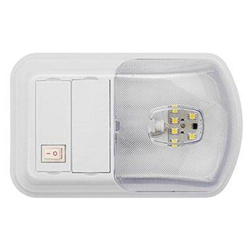 AP Products RV Trailer LITECO LED Interior SNGL Dome LT - 016-BL3002 Interior Light