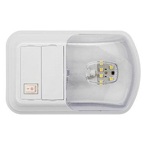 AP Products RV Trailer LITECO LED Interior SNGL Dome LT - 016-BL3002 Interior Light