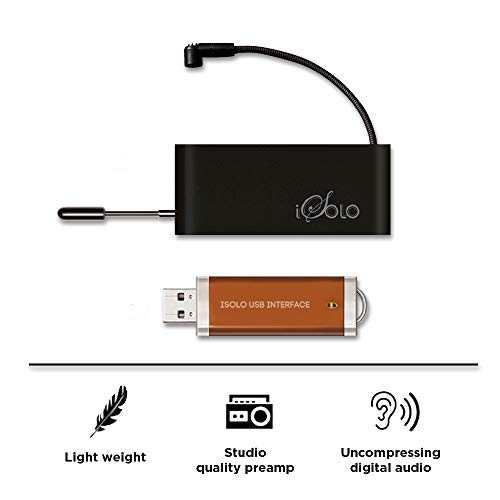 Wireless USB Microphone for instruments - Audio & Music Recording System, Instant Recorder for Laptop & Phone