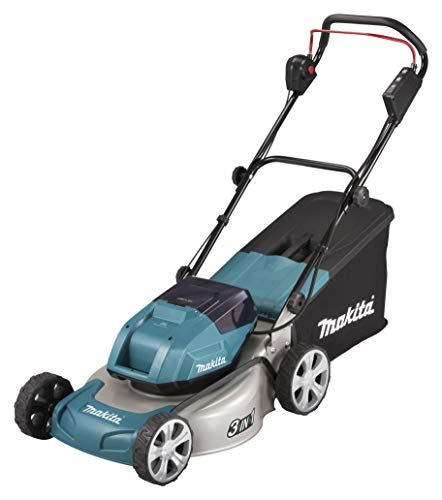 Makita DLM460Z Twin 18V (36V) Li-ion LXT Brushless Lawn Mower - Batteries and Charger Not Included