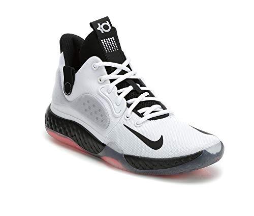 Nike New KD Trey 5 VII Basketball Shoes (M4.5/W6) White/Black/Silver