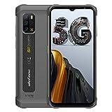 "Rugged Phones Ulefone Armor 12 5G, IP68 Waterproof Cell Phone Unlocked, Android 11, 48MP Quad Rear Camera, 5180mAh, 8GB+128GB 6.52"" HD+, Dual SIM Dual Unlock, Glonass+GPS Shockproof Dustproof (Black)"