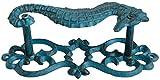 Tirador de Puerta de Caballito de mar Hierro Fundido Vintage Estilo Antiguo...