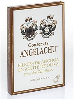 comprar comparacion Anchoa de Santoña XL sobadas a mano en aceite de oliva virgen extra. 115 Gr.