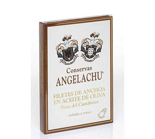 Anchoa de Santoña XL sobadas a mano en aceite de oliva virgen extra. 115 Gr.