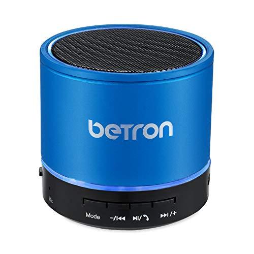 Betron KBS08 Wireless Portable Travel Bluetooth Speaker (Blue)