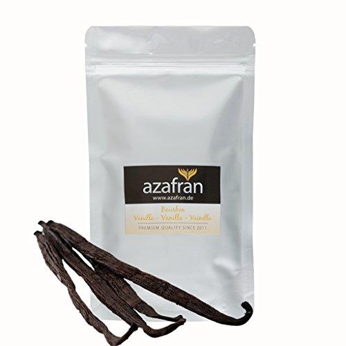 Azafran Bourbon Vanille Vanilleschoten 14-16 cm 5 Stk