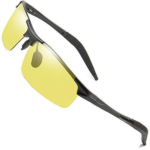 MOTELAN - Gafas de sol fotocromáticas polarizadas UV400 para deportes al aire libre, pesca, golf, playa, béisbol