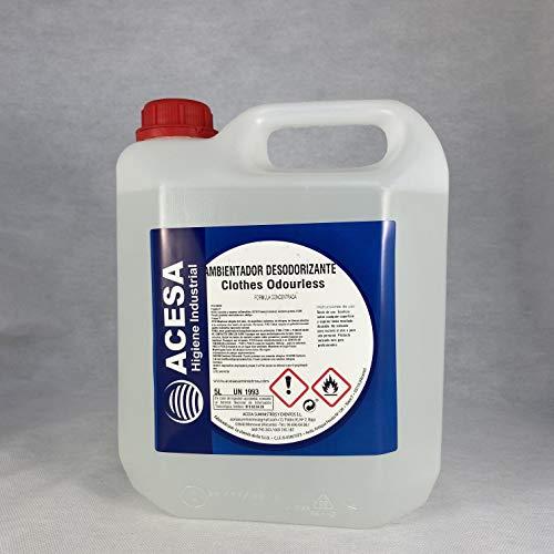 Ambientador Profesional Concentrado Fragancia'ROPA LIMPIA' Formato industrial 5 litros. ACESA