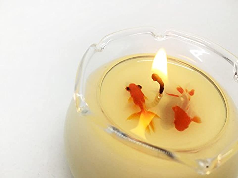 療法プラカード入札SAFC-spring Soy Aroma Fish Candle spring(梅) SAFC-spring