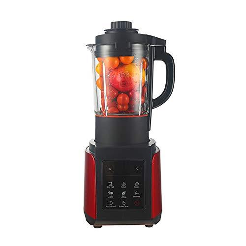ChengBeautiful Batidora Procesador De Alimentos Supremplemento Multifuncional Multifuncional Multifuncional Suplemento De Carne Mezclador Milkshake Mezclador (Color : Red, Size : One Size)