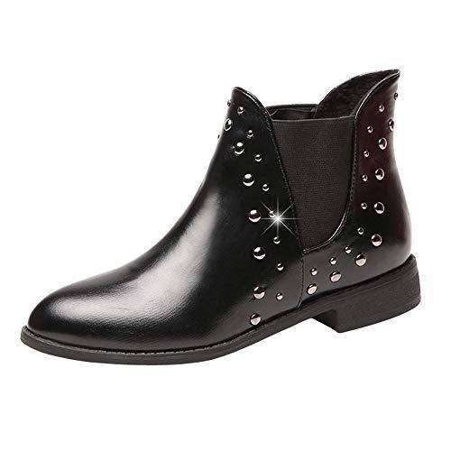 Stiefel Damen, LANSKIRT Warm halten Boots Stiefeletten Halbschaft Stiefel Plateau Blockabsatz Knöchelhohe Stiefel Boot Sandalen Sneakers Schuhe