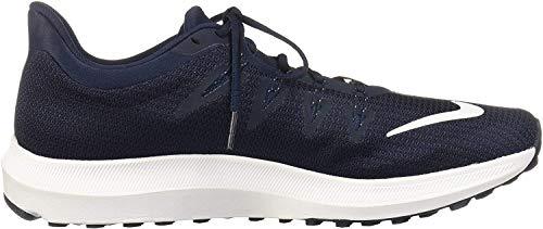 Nike Quest, Zapatillas de Deporte para Hombre, Multicolor (Obsidian/White/Midnight Navy/Wolf Grey 400), 44 EU