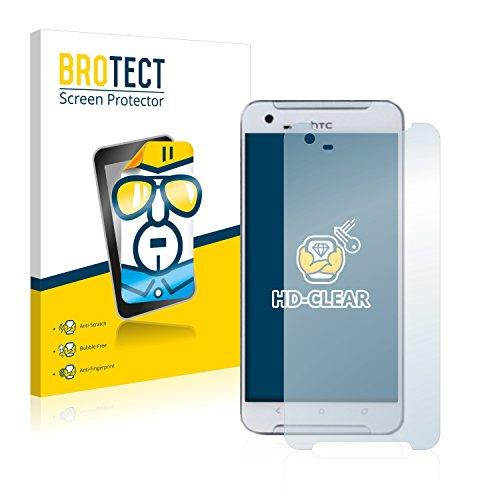 BROTECT Schutzfolie kompatibel mit HTC One X9 (2 Stück) klare Bildschirmschutz-Folie