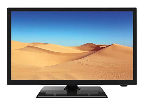 "22"" Full HD 1080P DLED 12v 240v TV Freeview HD HDMI USB PVR Caravan HGV Motorhome Traveller 12 Volt - Black*"