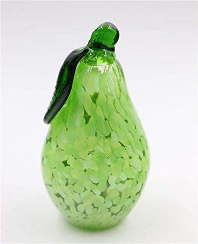 WJSW Figur Tier Statue Ornamente Handgemachte Glas Birne Ornamente Home Wohnzimmer Weinschrank Dekorationen Werbegeschenke