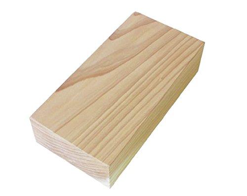 池川木材 レンガ 杉 もくレンガ 木 20×10×5cm