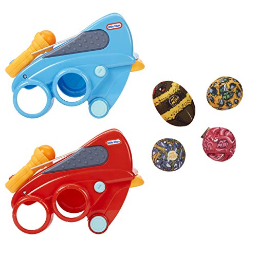 Little Tikes Mighty Blasters Sling Blaster 2-Pack with Two Toy Wrist Launchers and 4 Soft Power Pods for Kids Ages 3 Years and Up