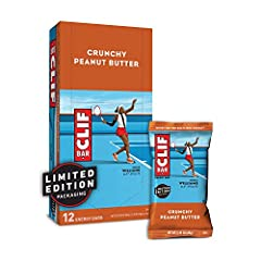 Smooth, organic peanut butter mixed with crunchy peanut pieces for a taste you'll go nutty for. NUTRITION FOR SUSTAINED ENERGY: CLIF BAR is the ultimate performance energy bar, purposefully crafted to deliver an optimal blend of protein, fat, fiber, ...