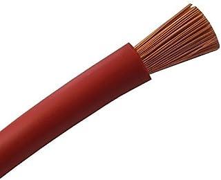 5 Meter Batteriekabel ROT H07V K 16 mm²   KFZ Batterie Kabel   100% OFC Kupfer   5 m (5M) 16mm2
