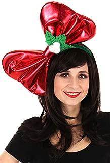 elope Giant Christmas Costume Bow Headband for Women