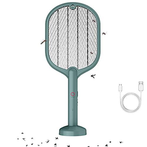 KUMADAI Antimosquitos Electrico Exterior Bloom Ultrasonido Recargable USB Lampara Antimosquitos Interior LED...