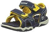 Timberland Adventure Seeker 2 - Zapatos con correa de tobillo para bebés, color azul, talla 22