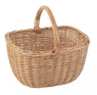 Wicker Willow Cookery/Shopping Basket