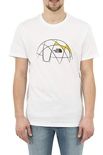 The North Face M S/S Cel Easy tee Camiseta, Hombre, TNF Negroanco, XL