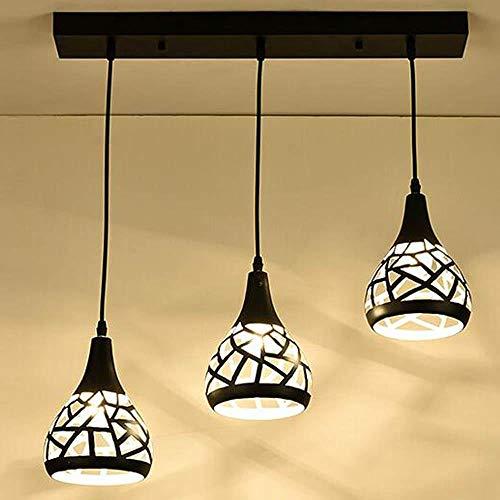 Moderne hanglamp van minimalistisch ijzer creatief onregelmatige geometrie Hollow Design ronde lampenkap kroonluchter woonkamer plafondlamp slaapkamer keuken lamp