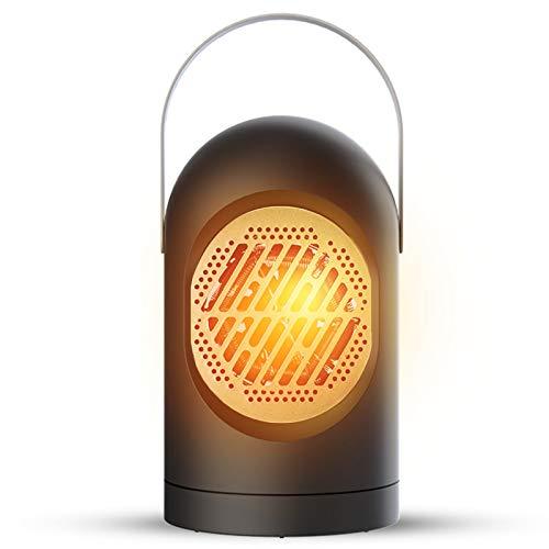 Migaven Calefactor, Calefactor Bajo Consumo con Mango de Protección contra Sobrecalentamiento, Función Silence, para el Hogar, Oficina, Sala de Estar, Dormitorio