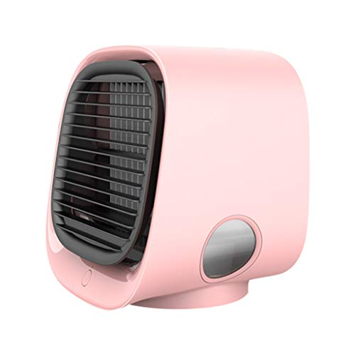 Fantastic Deal! Bazahy Air Conditioning Fan Cooling Electric Fan New USB Rechargeable Mini Cooling F...