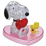 HCM Kinzel 59184 - Puzzle 3D, diseño de Snoopy en Amor