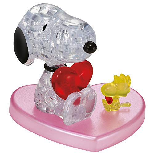 3D Crystal Puzzle Snoopy in Love - 3D-Puzzle - 59184 - HCM Kinzel
