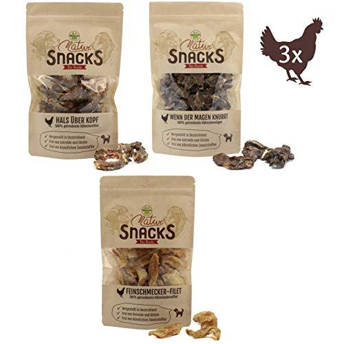 VigoPawtner gesunde Hundeleckerlis | 100% natürliche Snacks | getrocknet, getreidefrei, zuckerfrei